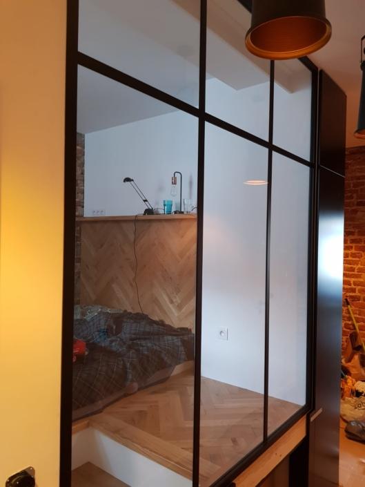 zabudowy szklane w stylu loftowym kraków