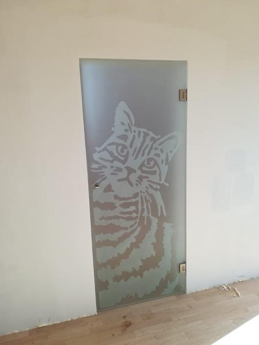 drzwi-szklane-krakow-kot-piaskowany